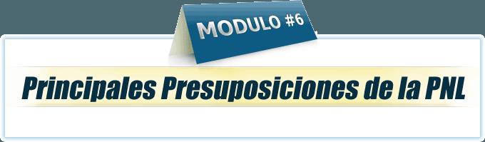 Módulo 6 Practitioner en PNL online
