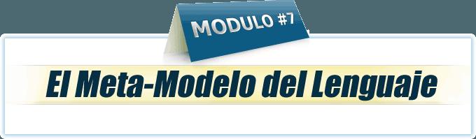 Módulo 7 Practitioner en PNL online