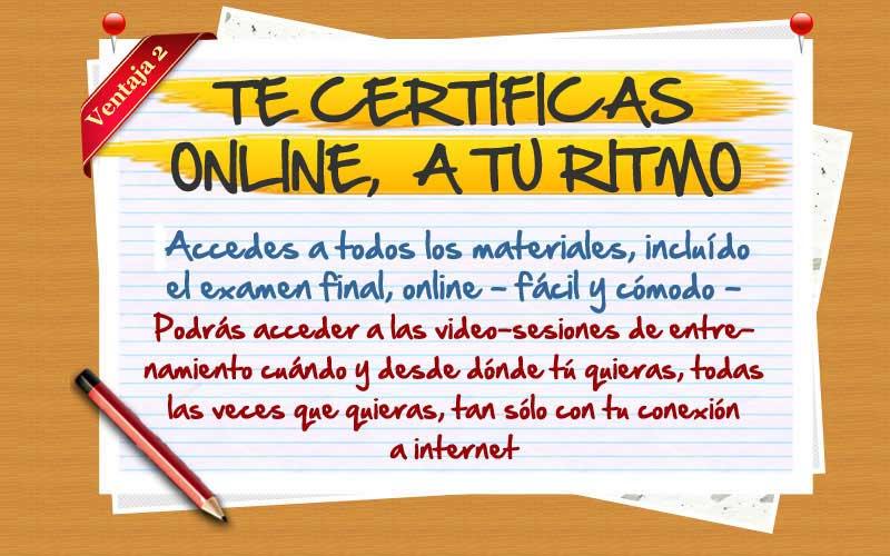 Te certificas a tu ritmo en nuestro practitioner en PNL online