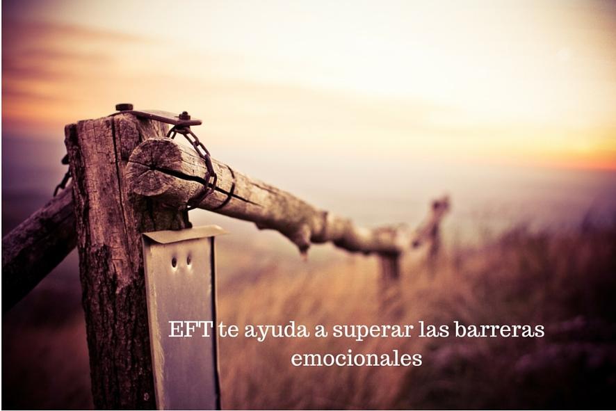 EFT te ayuda a superar las barreras emocionales