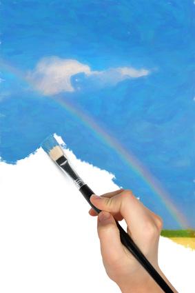 Pintando el arco iris